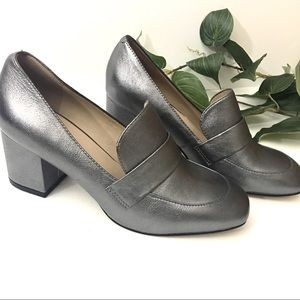 Aldo Gray Loafer Shoes Size 6